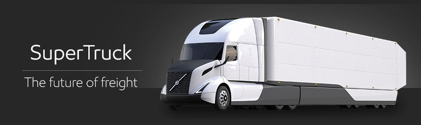 volvo super truck future of freight screen xl